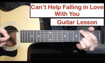 Can't Help Falling In Love – Elvis/TOP | Guitar Lesson (Tutorial) How to play Chords