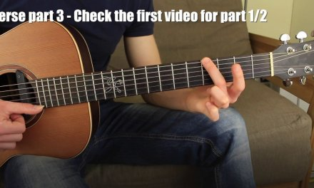 #2 Beauty and the Beast Fingerstyle Guitar Lesson Chord Melody