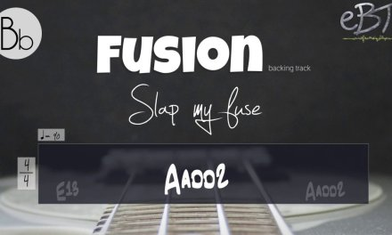 FUSION STYLE BACKING IN Gb MINOR!! *Bb*