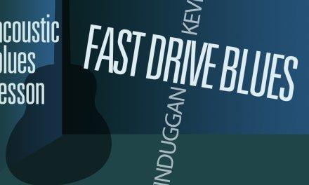 Acoustic Blues Guitar Lesson: FastDrive by Kevin Duggan MDBG