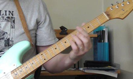 Fenton Robinson Guitar Lesson – Early Recordings Part 2