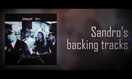 "Metallica ""Last Caress"" Backing Track"