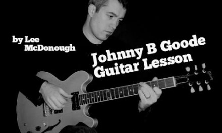 Johnny B Goode Chuck Berry Guitar Lesson