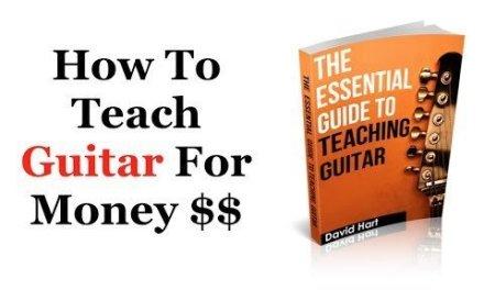 How To Teach Guitar For Money