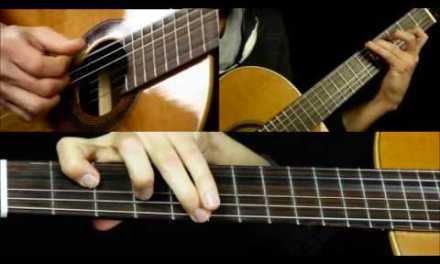 Canon In D Classical Guitar Lesson Part 2