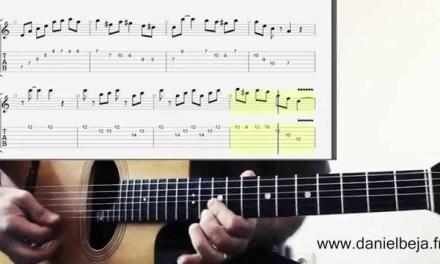 Minor Swing Django Solo Tab & Grappelli Solo on guitar…