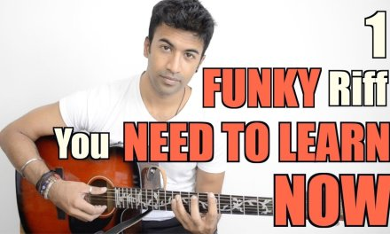 1 FUNKY riff you NEED TO LEARN – NOW