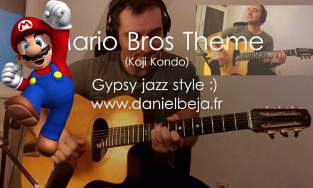 Super Mario Bros theme (Gypsy Jazz Guitar)