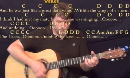 Sara (Fleetwood Mac) Strum Guitar Cover Lesson in C with Chords/Lyrics
