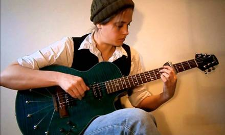 Moon River – Solo Jazz Guitar Arrangement (with tab)