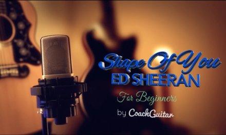 SHAPE OF YOU for Beginners – ED SHEERAN – Guitar Lesson Tutorial – Teaser