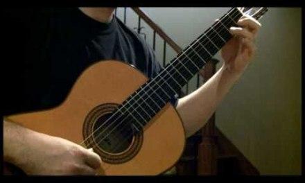 Bach – Minuet in G major (Classical guitar)