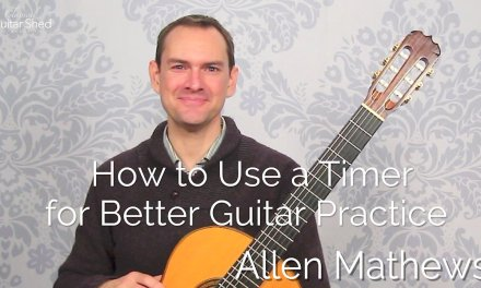 How to Use a Timer for Better Classical Guitar Practice