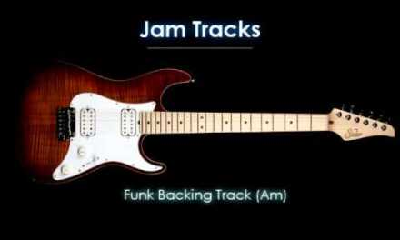 Funk / Fusion Backing Track (Am) – TheGuitarLab.net –