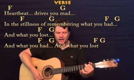 Dreams (Fleetwood Mac) Easy Strum Guitar Cover Lesson with Chords / Lyrics