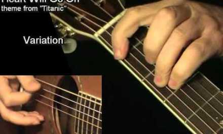 Heart Will Go On – TITANIC: Acoustic Guitar Lesson + TAB by GuitarNick