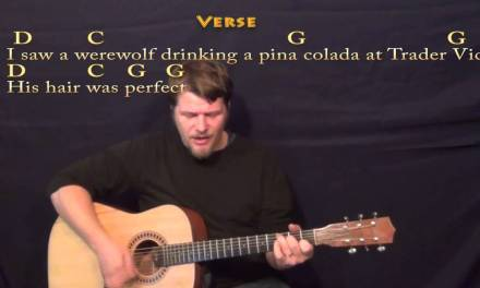 Werewolves of London – Strum Guitar Cover Lesson with Lyrics/Chords