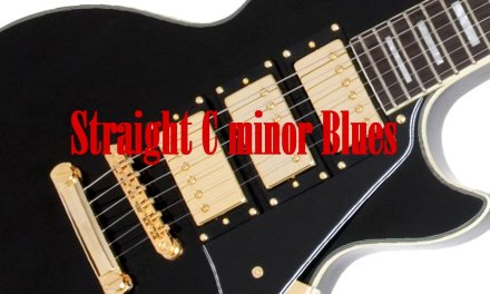 Straight C Minor Blues Backing track