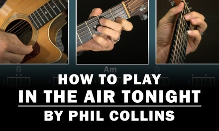 In The Air Tonight (Phil Collins)   How to Play   Beginner guitar lesson
