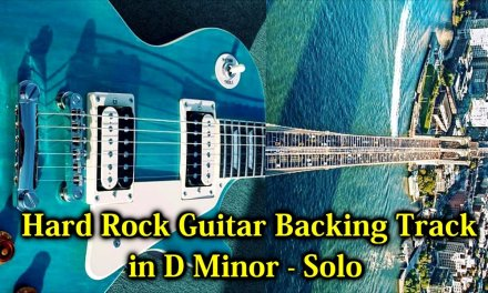 Epic Hard Rock Guitar Backing Track in D Minor – Solo