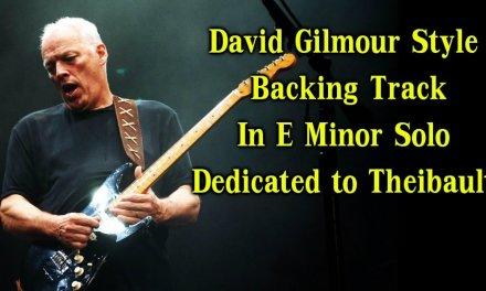David Gilmour Style Backing Track In E Minor Solo