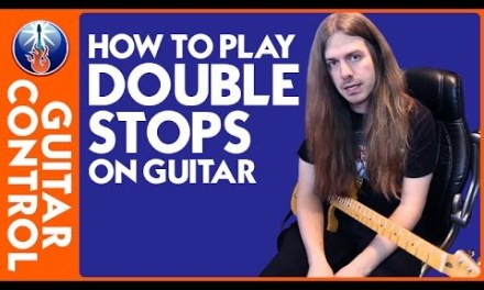 How to Play Double Stops on Guitar – Lead Guitar Technique Lesson