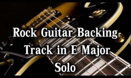 Guitar Backing Backing Track in E Major –   Solo