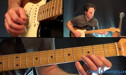 The Spirit of Radio Guitar Lesson Pt.1 – Rush