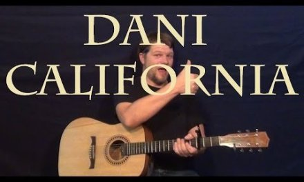 Dani California (Red Hot Chili Peppers) Guitar Lesson Easy Strum Chords How to Play Tutorial