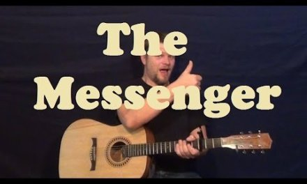 The Messenger (Linkin Park) Easy Strum Guitar Lesson How to Play The Messenger Tutorial