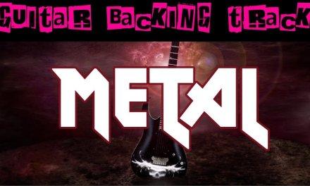 Metal Guitar Backing Track (D)   140 bpm – MegaBackingTracks