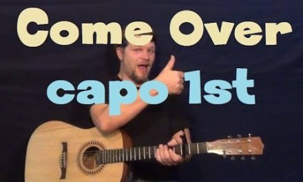Come Over (Kenny Chesney) Easy Strum Guitar Lesson How to Play Tutorial