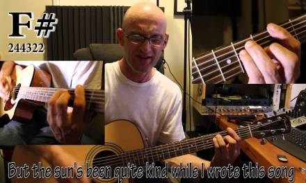 ELTON JOHN – YOUR SONG. Acoustic GUITAR Tutorial with Chords and lyrics
