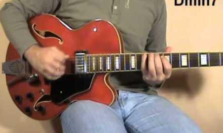 fast jazz guitar improvisation