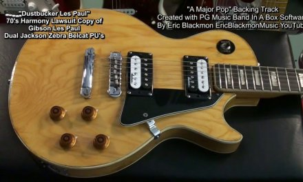 A MAJOR POP Original Band In A Box Backing Track EricBlackmonGuitar HD