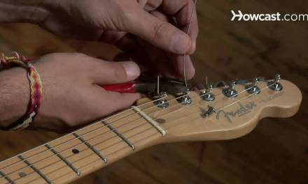 How to Restring an Electric Guitar | Guitar Lessons