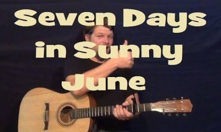 Seven Days in Sunny June (Jamiroquai) Guitar Lesson Strum Chords How to Play Tutorial