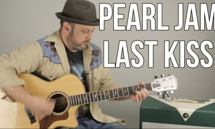 "Pearl Jam ""Last Kiss"" Beginner Acoustic Guitar Lesson – How to Play Guitar"