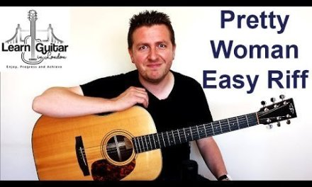 Pretty Woman – Roy Orbison – Easy Guitar Lesson – Riff + How To Use a Metronome   Drue James