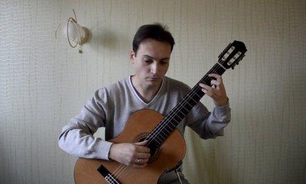 "Lesson 15 Classical Guitar ""Dynamics"" J.S. Bach ""Menuet"""