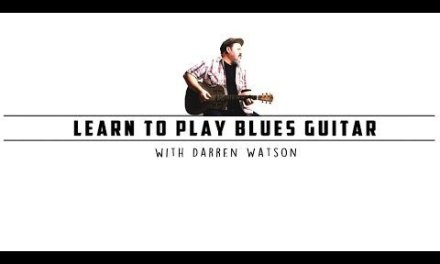 Darren Watson – Fingerstyle Blues Guitar Lesson One (The First 12 Bars)
