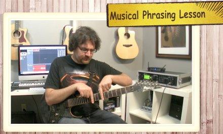 Musical Phrasing Guitar Lesson