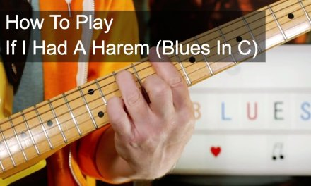 'If I Had A Harem (Blues In C)' Prince Guitar Lesson