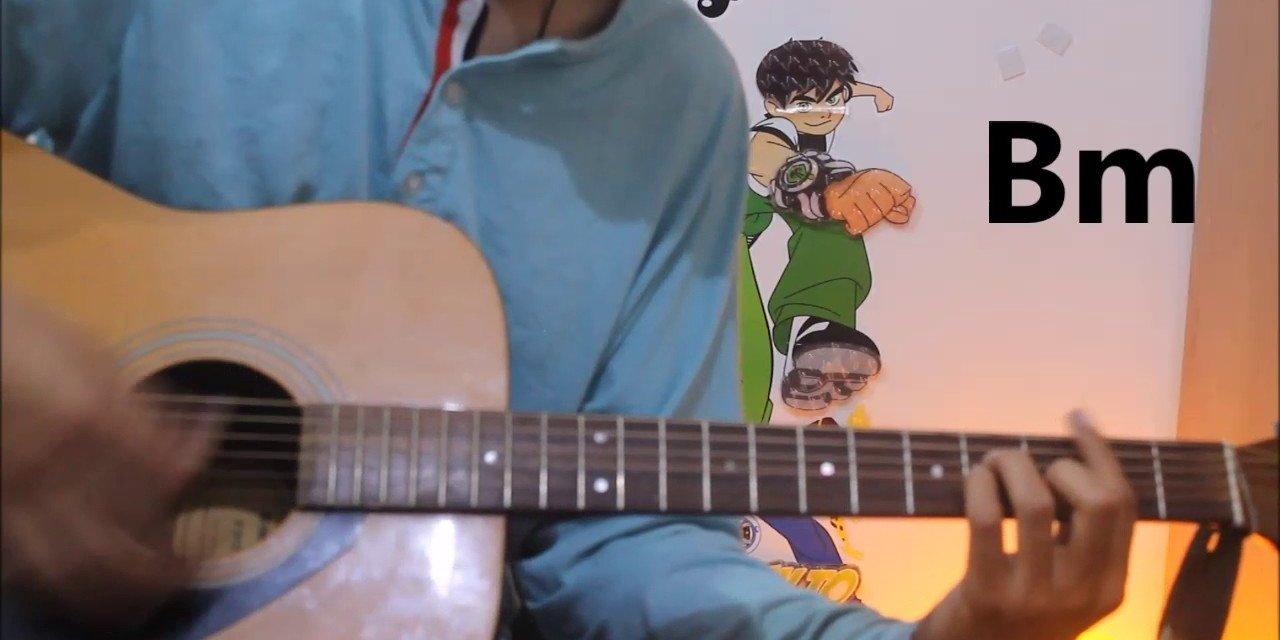 Mann Bharya Punjabi Song Guitar Cover Lesson Chords Easy Janni