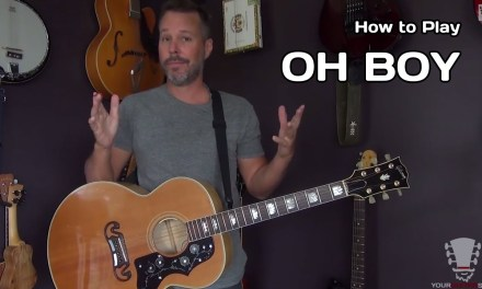 How to Play Oh Boy by Buddy Holly – Acoustic Guitar Lesson