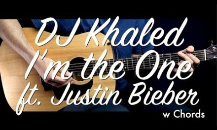 DJ Khaled – I'm the One ft. Justin Bieber Guitar Tutorial Lesson/Guitar Cover w Chords  how to play