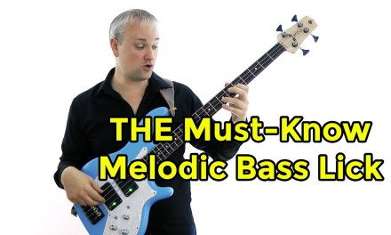 THE Must-Know Melodic Bass Lick