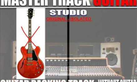 AEROSMITH I don't want to miss a thing (guitar backing track)