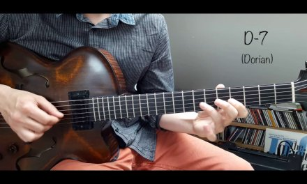 Jazz Guitar Mini Lesson #16 – Melodic Minor Substitutions