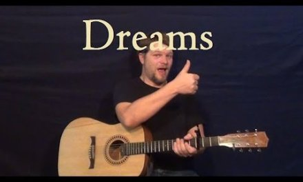 Dreams (FLEETWOOD MAC) Easy Strum Guitar Lesson – Fmaj7 – G – Am – How to Play